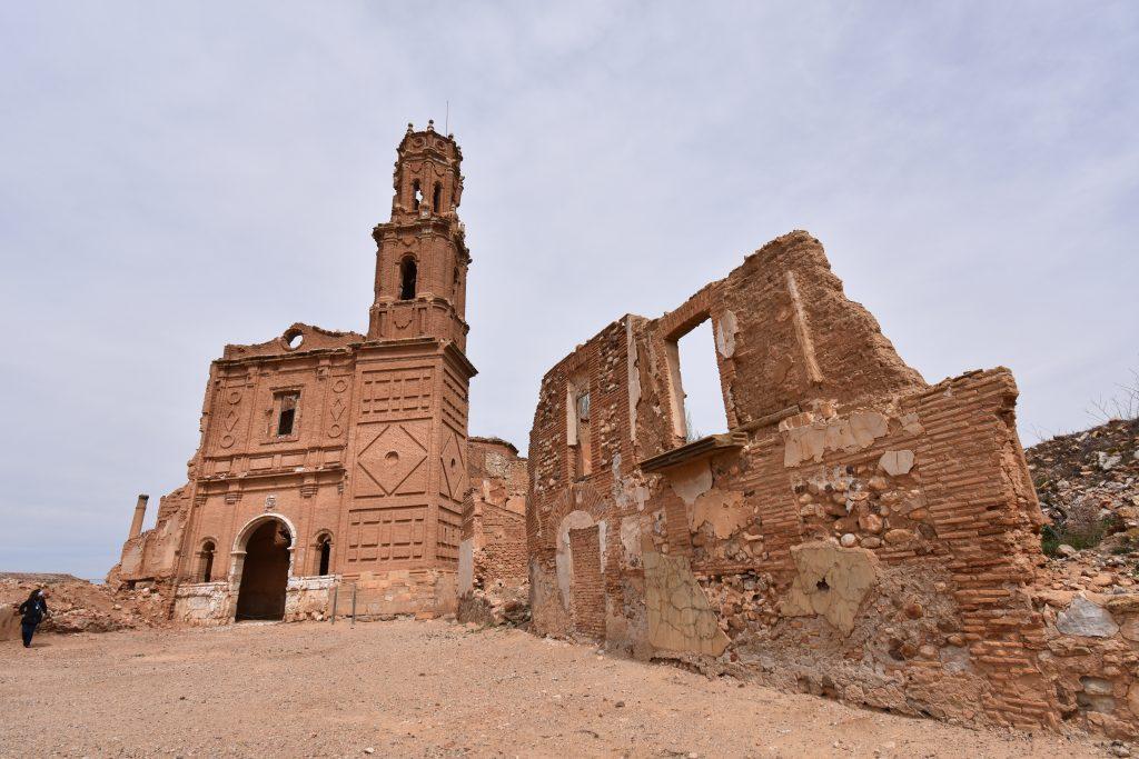 Iglesia san agustin belchite