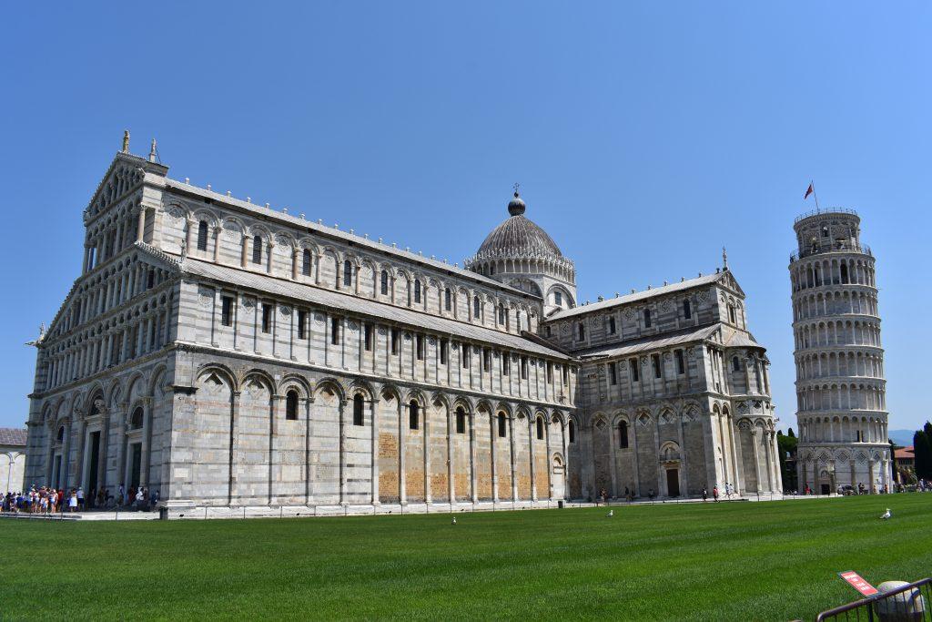 Catedral de Pisa y torre